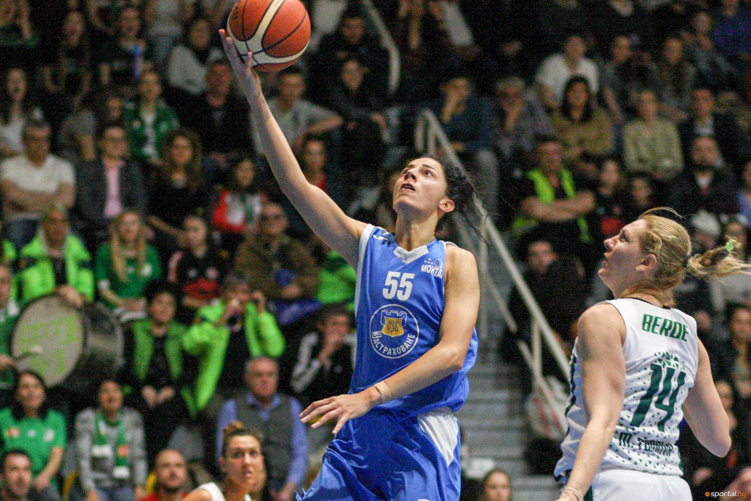 Пети мач ще реши титлата в женското баскетболно първенство на