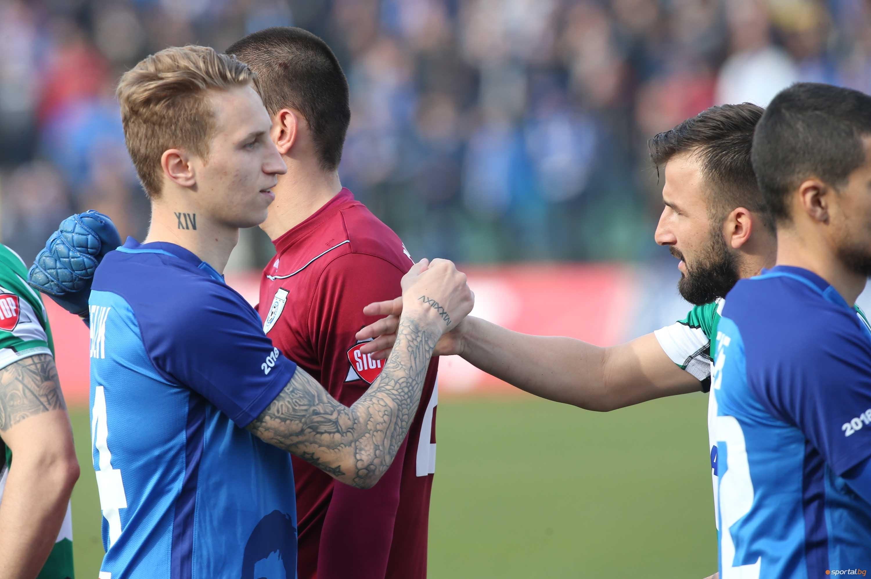 Естонският халф Богдан Вашчук е напът да си осигури постоянен