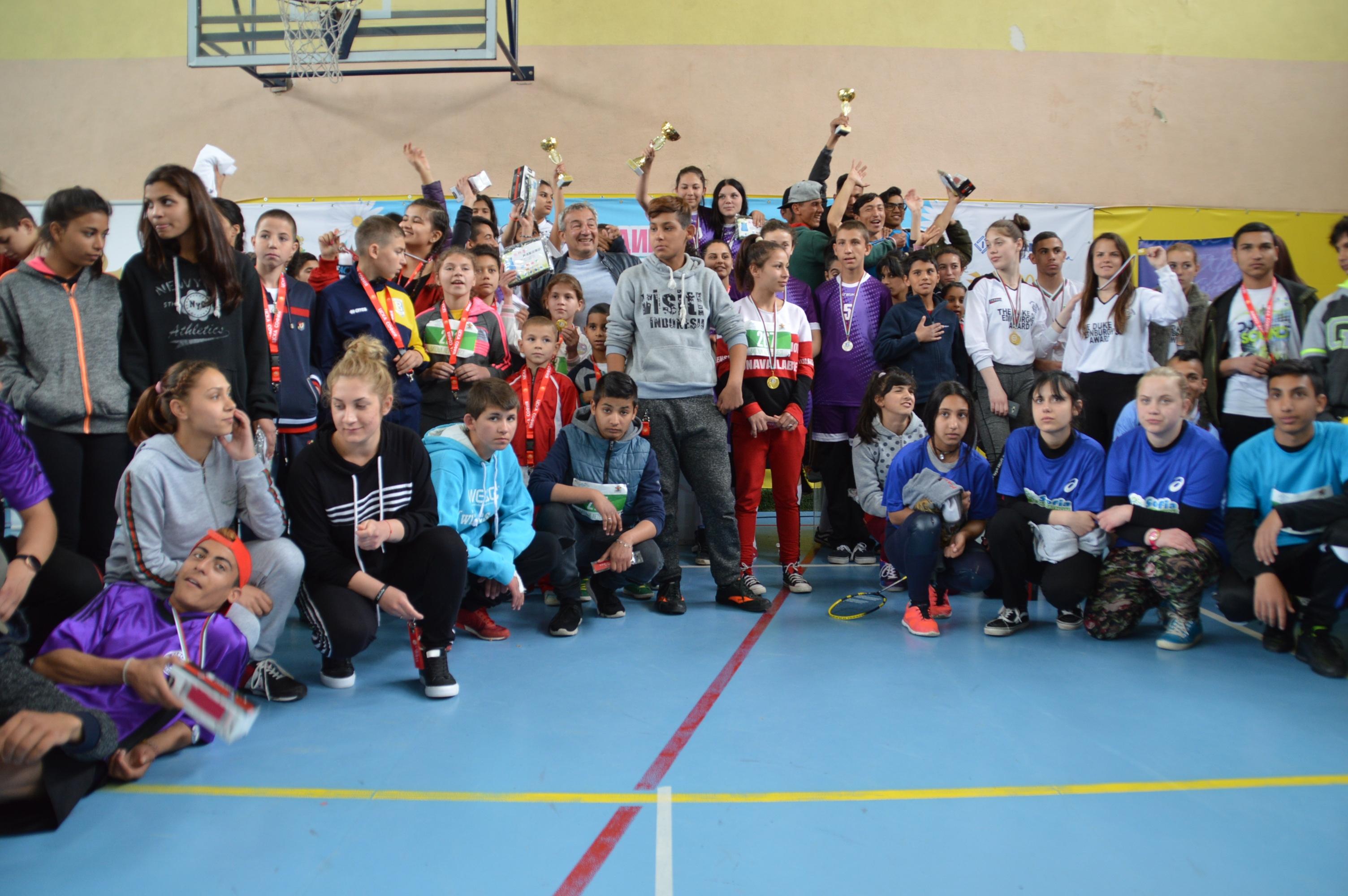 Снимка: Над 280 участници на Националния шампионат за деца и младежи в риск