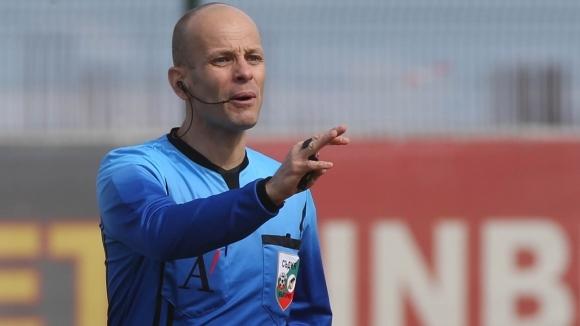 Снимка: Николай Йорданов ще ръководи двубоя от Първа лига между Черно море и Лудогорец