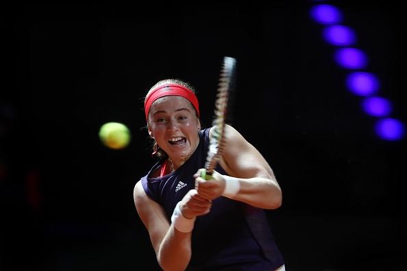 Снимка: Остапенко отпадна в първия кръг в Щутгарт