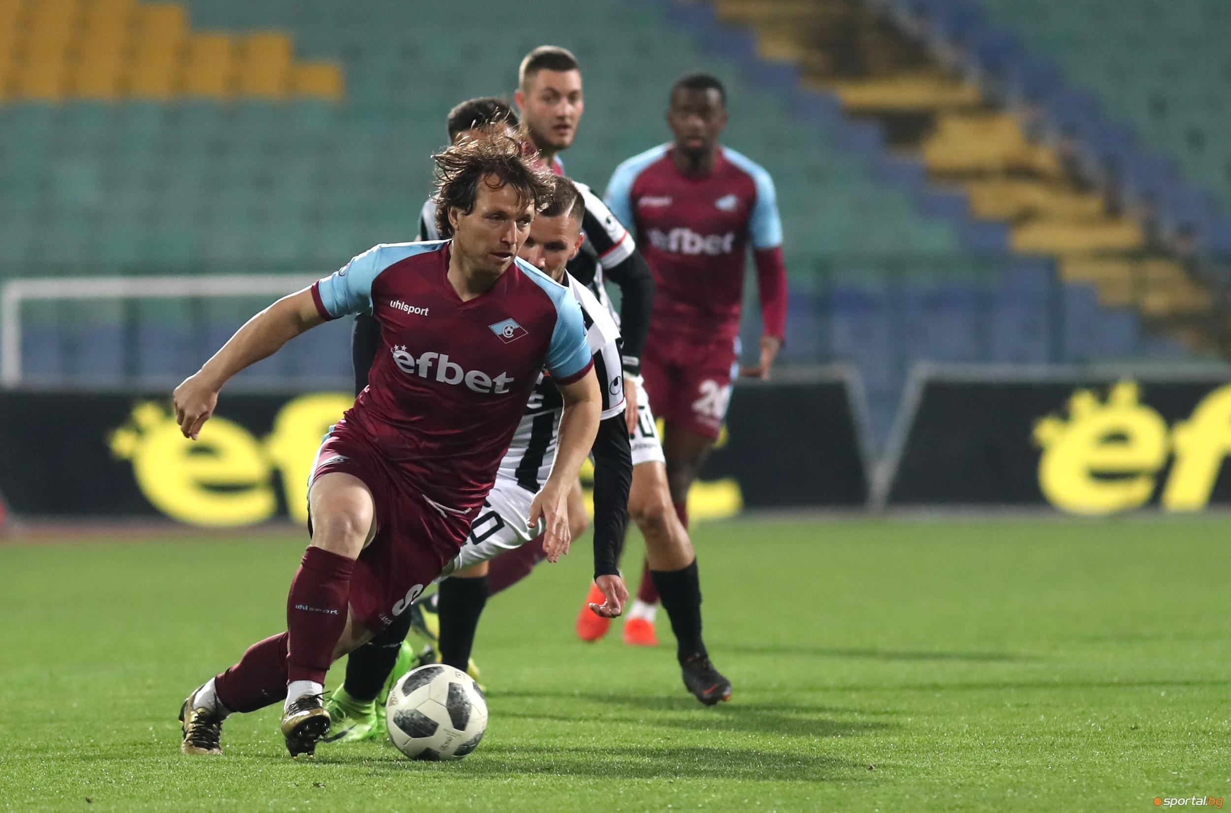 Снимка: Галчев: Ако бяхме вкарали 1-2 бързи гола, щеше да стане интересно