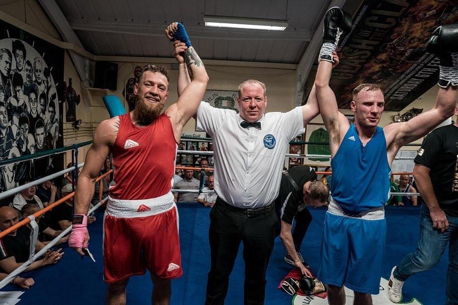 Боксьорът Майкъл Макгрейн, който е аматьор, публично сподели възмущението си