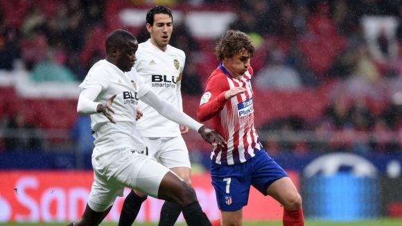 Отборите на Атлетико Мадрид и Валенсия излизат в битка от