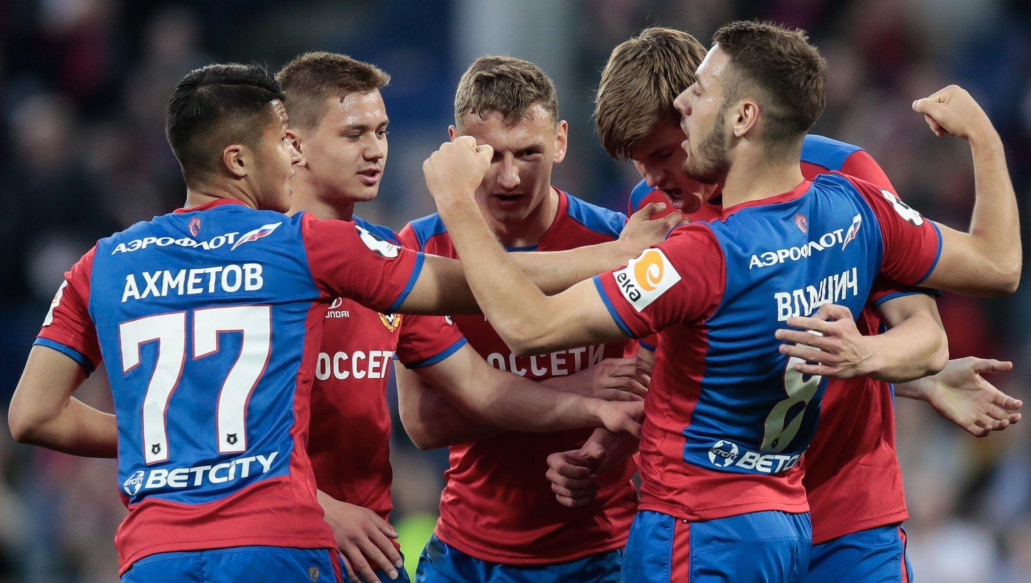 Аутсайдерът Анжи не успя да се противопостави на ЦСКА (Москва)