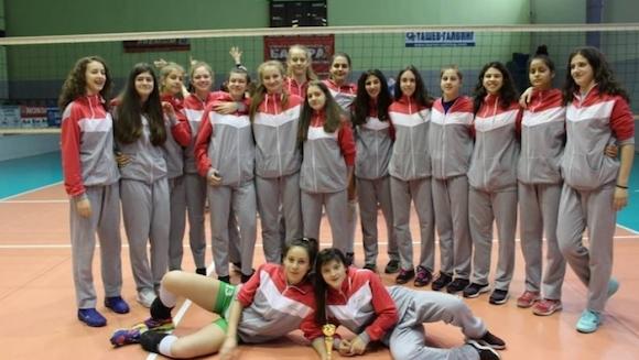 Националният отбор по волейбол на България за девойки под 16