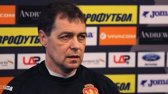 Селекционерът на България по футбол Петър Хубчев подаде оставка. Той