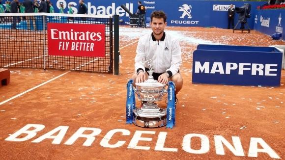 Шампионът в Барселона Доминик Тийм сподели колко невероятно е чувството