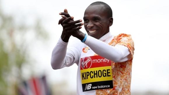 Световният рекордьор в маратона Елиуд Кипчоге от Кения вярва, че