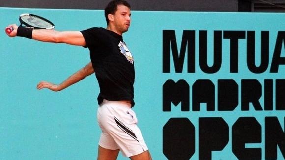 Единственият българин в тенис елита Григор Димитров проведе първите си