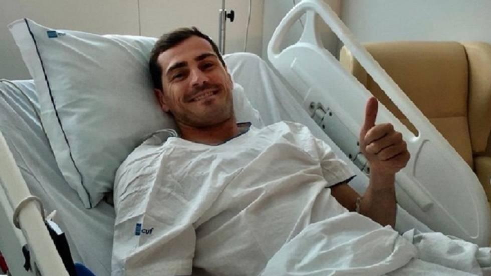 Огромна подкрепа получи легендарният испански вратар Икер Касийяс от феновете