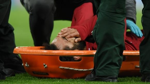 Снимка: Салах почти сигурно отпада от сметките за мача с Барса