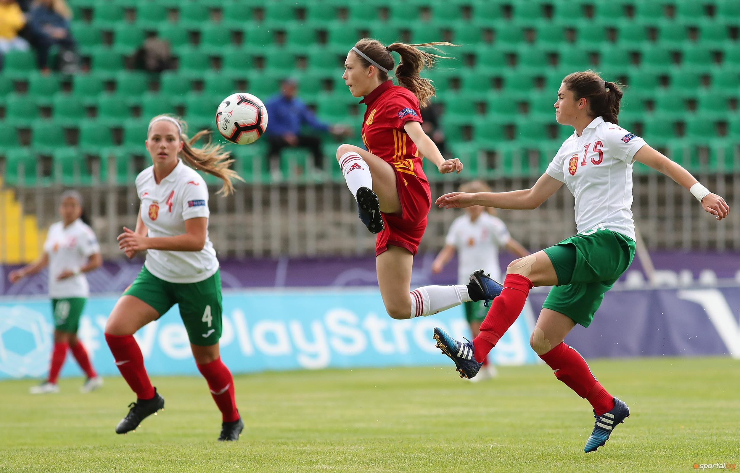 В рамките на Европейското първенство на УЕФА за девойки до