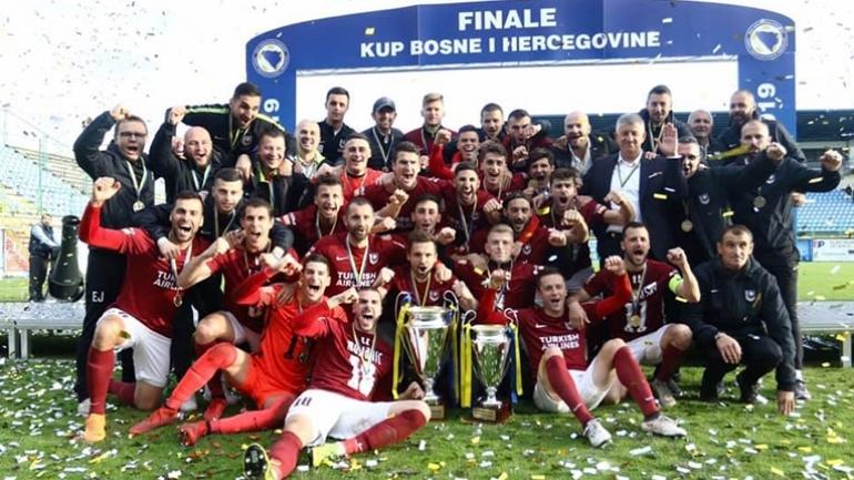 ФК Сараево заслужи за шести път в историята си купата