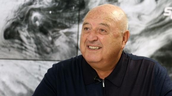 Президентът на Славия - Венци Стефанов, заяви пред Sportal.bg, че