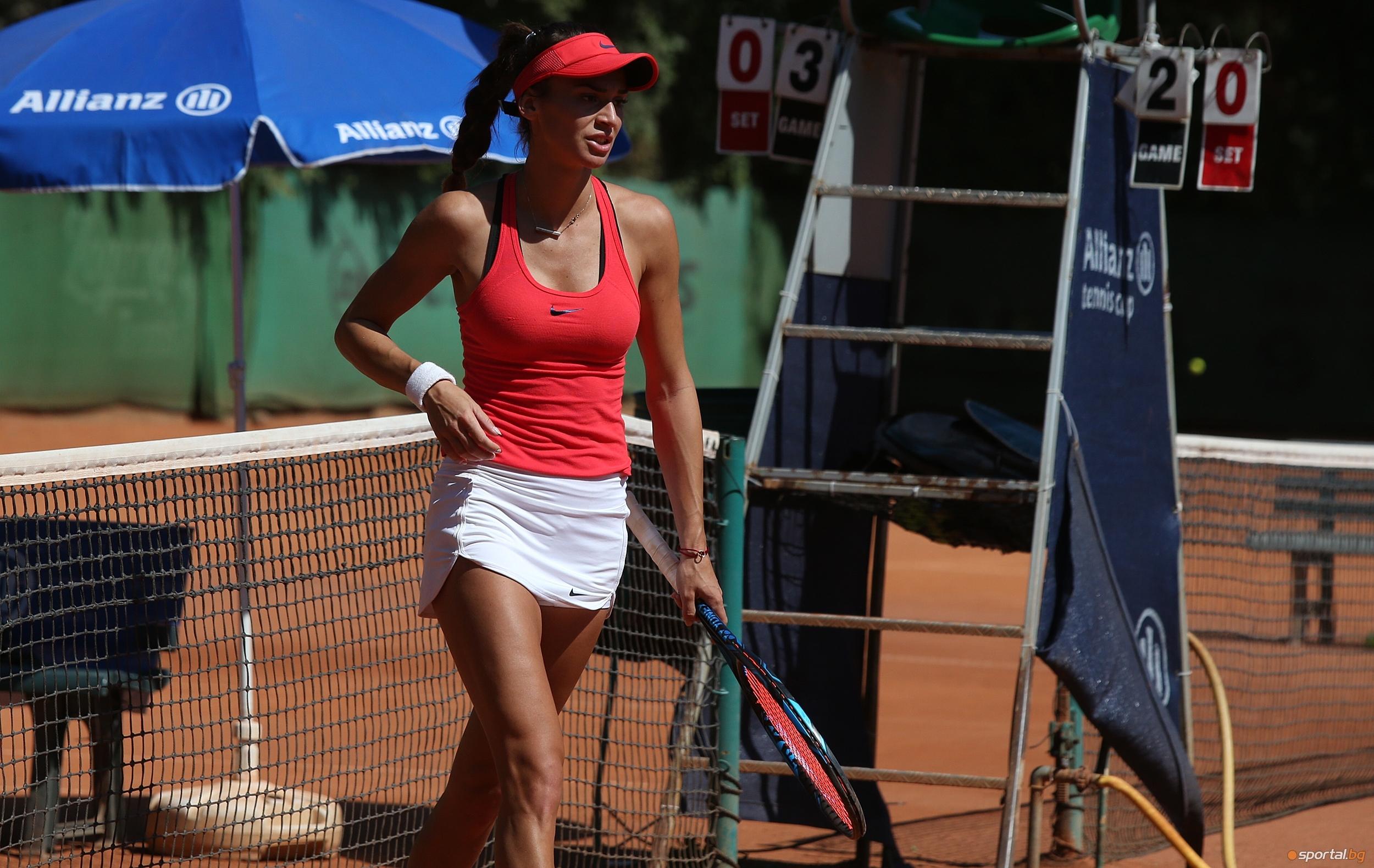 Ани Вангелова отпадна във втория кръг на турнира по тенис