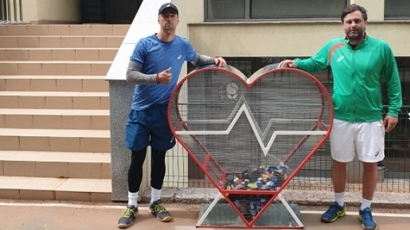 Българската федерация по тенис се включи в благотворителната инициатива