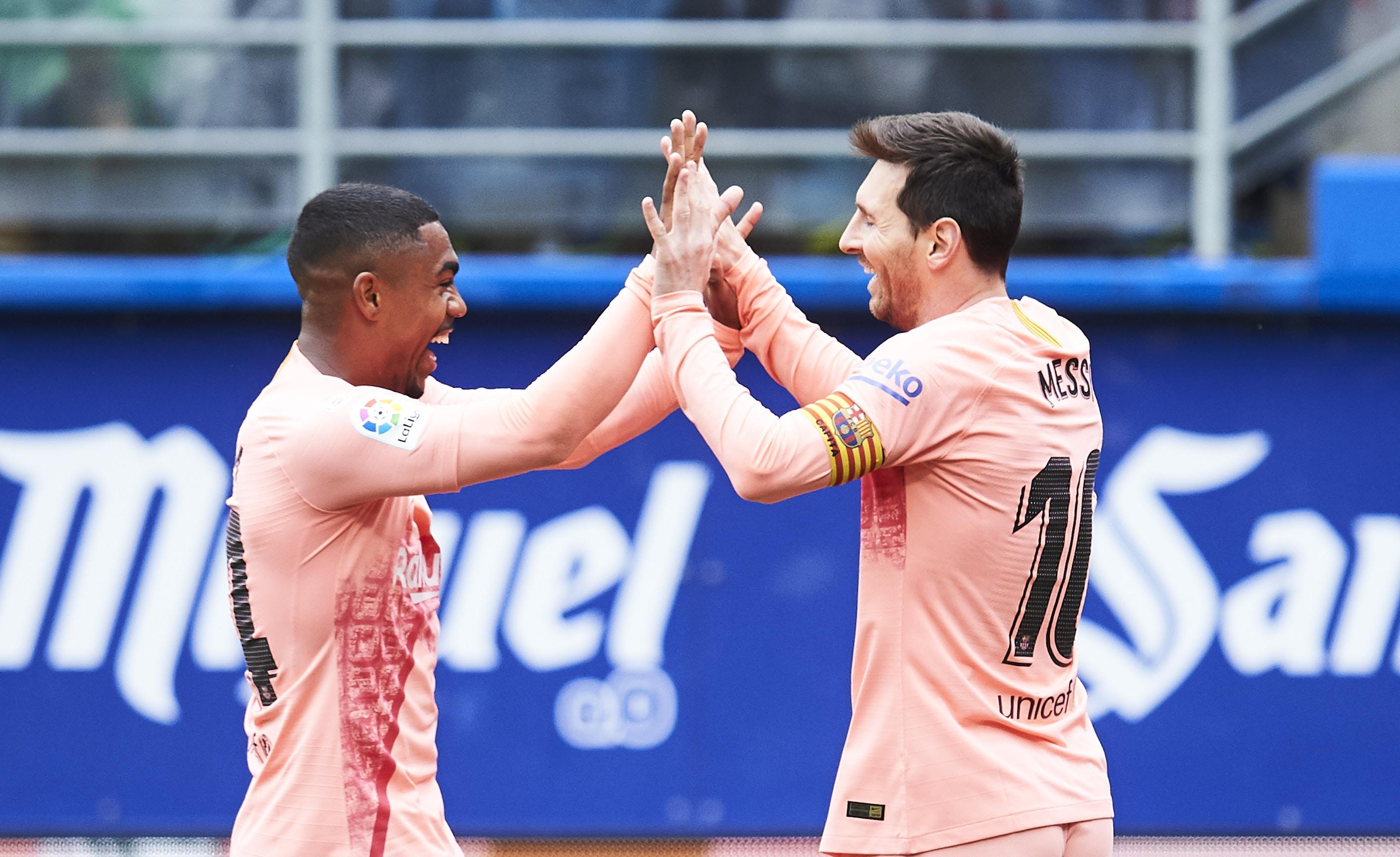Лионел Меси помогна за шампионската кампания на Барселона в Ла