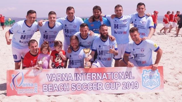Шампионът на България МФК Спартак завърши на второ място на