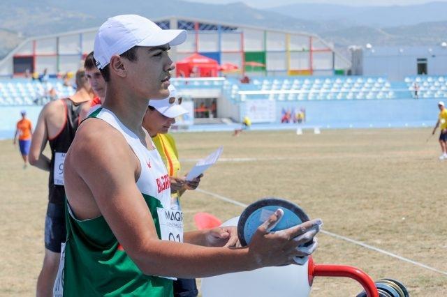 Двама от най-талантливите ни млади атлети в хвърлянията Алекс Христов