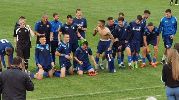 Монтана победи с 1:0 ЦСКА-София в среща от XXVIII кръг