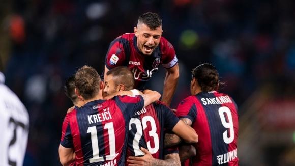 Отборът на Болоня си осигури оставането в Серия А и