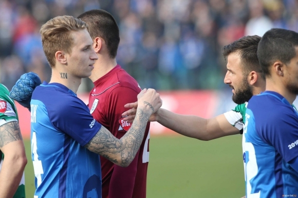 Естонският халф Богдан Вашчук ще напусне Левски през лятото и