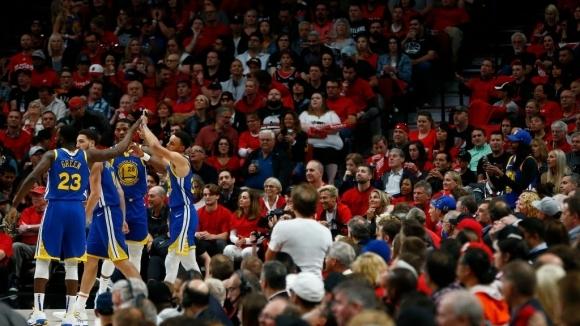 Класирането на Голдън Стейт за пети пореден финал на НБА