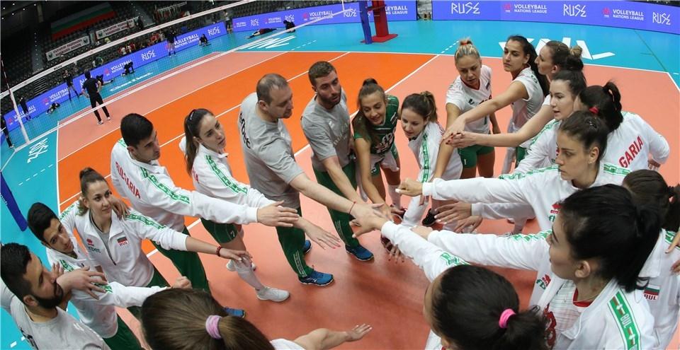 Волейболистките от националния отбор на България ще дебютират днес в