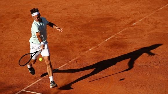 Роджър Федерер стъпи на кортовете на