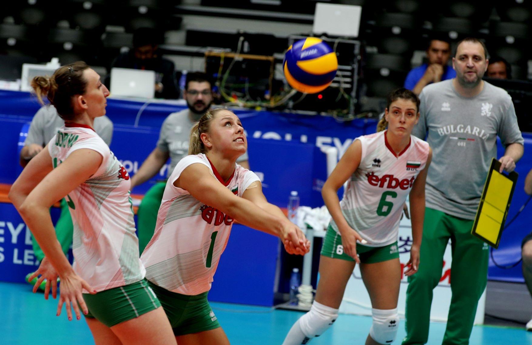Топреализаторката на България в мача с Япония от Волейболната лига