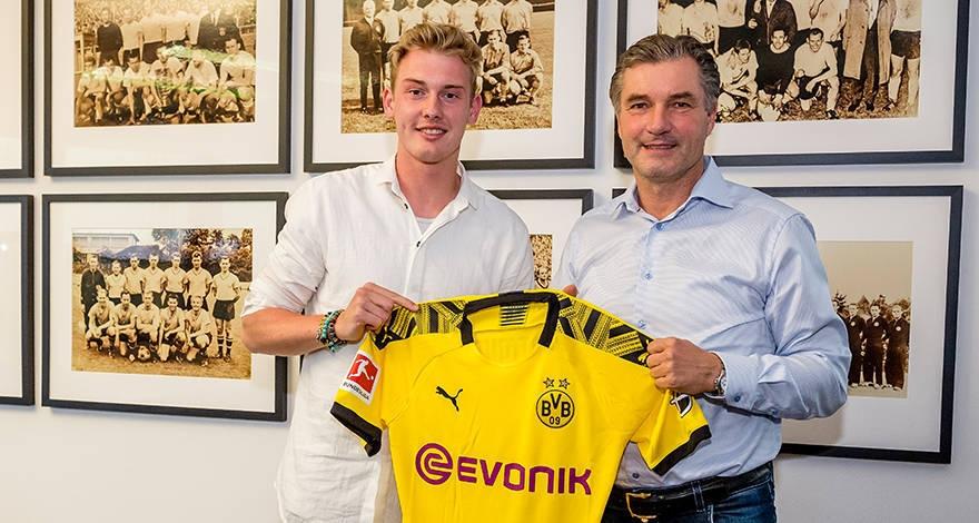 Борусия (Дортмунд) потвърди втори солиден трансфер в рамките на няколко
