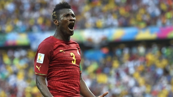 Нападателят Асамоа Гиан обяви, че се завръща в националния отбор