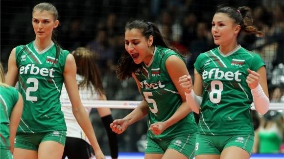 Волейболистките от националния отбор на България излизат срещу Белгия за
