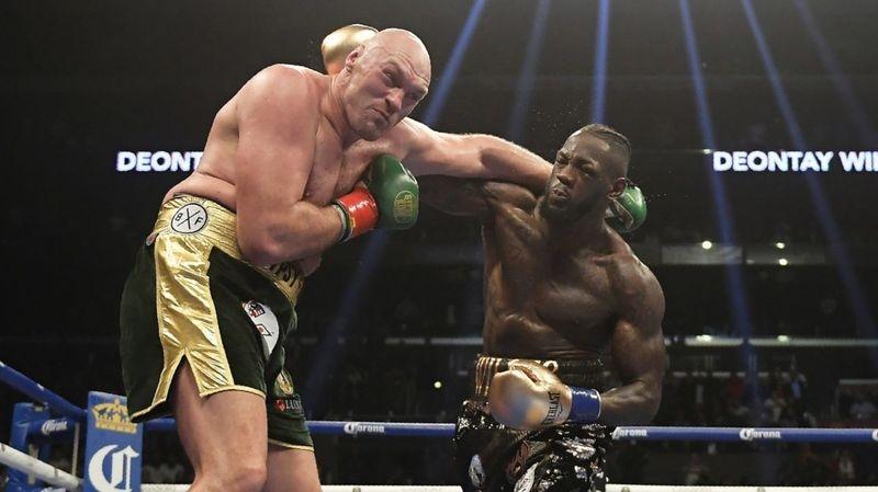 Шампионът на Световния боксов съвет Дионтей Уайлдър шеговито отговори на