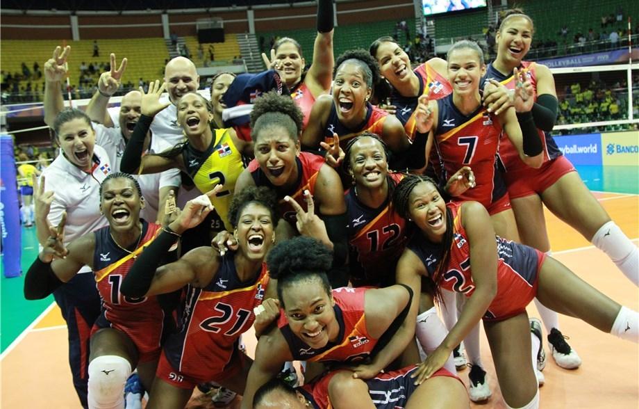 Женският национален отбор на Доминиканската република продължава с изненадите във