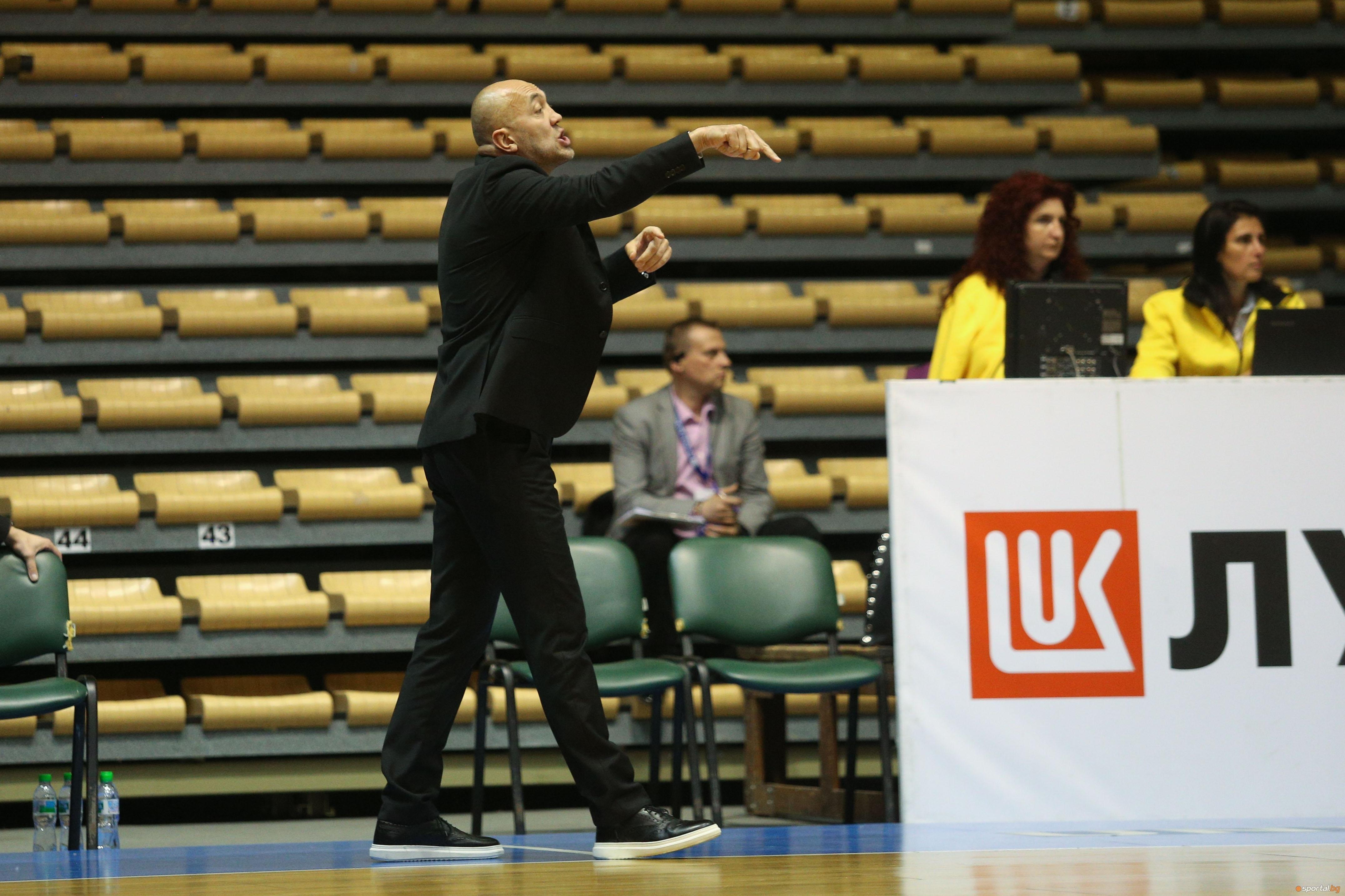 Старши-треньорът на Балкан (Ботевград) Небойша Видич реши да спести коментарите