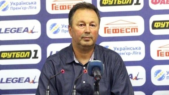 Българският треньор на Черноморец (Одеса) Ангел Червенков заслужи приза за
