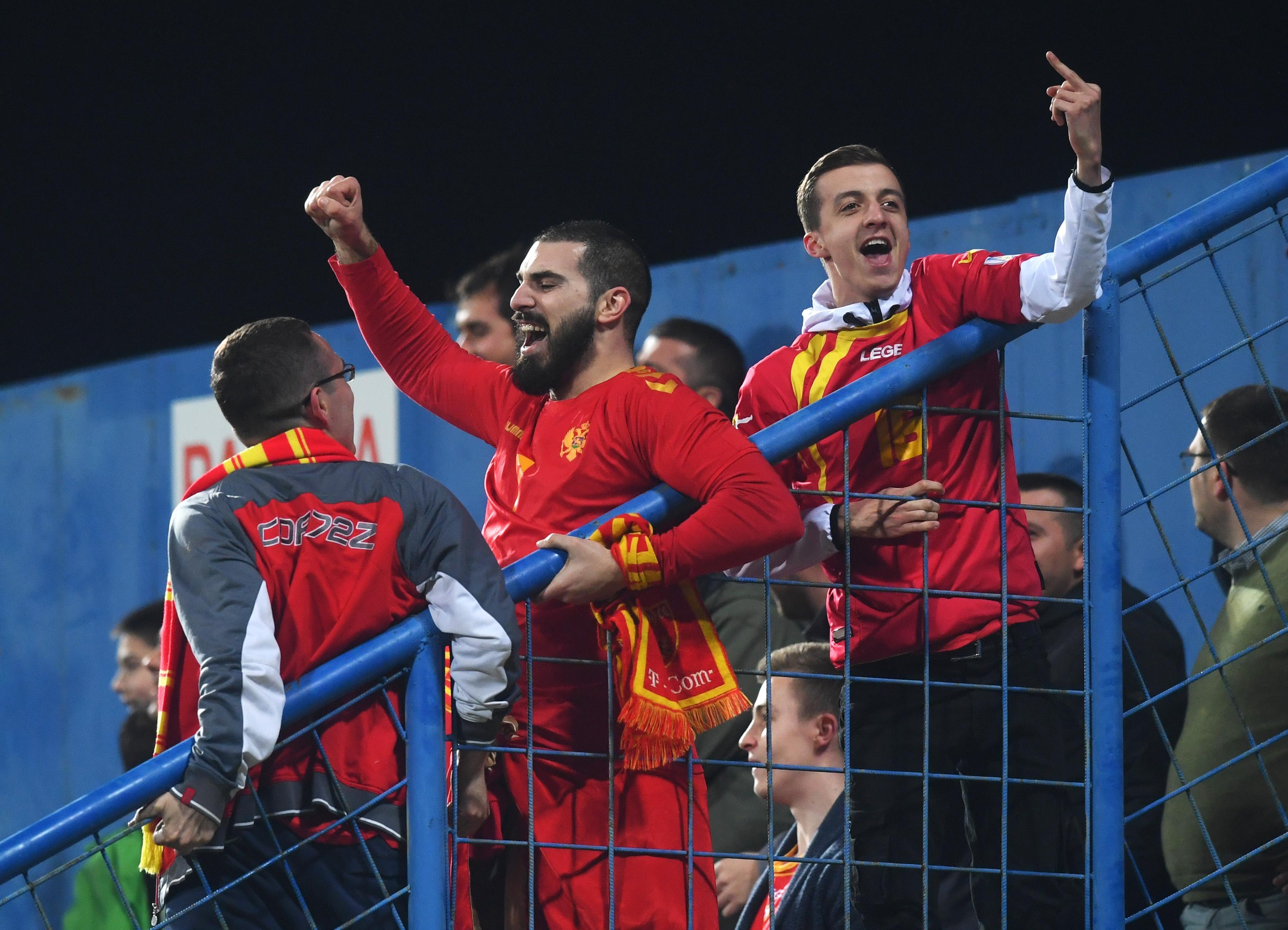 Националният тим на Черна гора загуби обжалването за наложеното от
