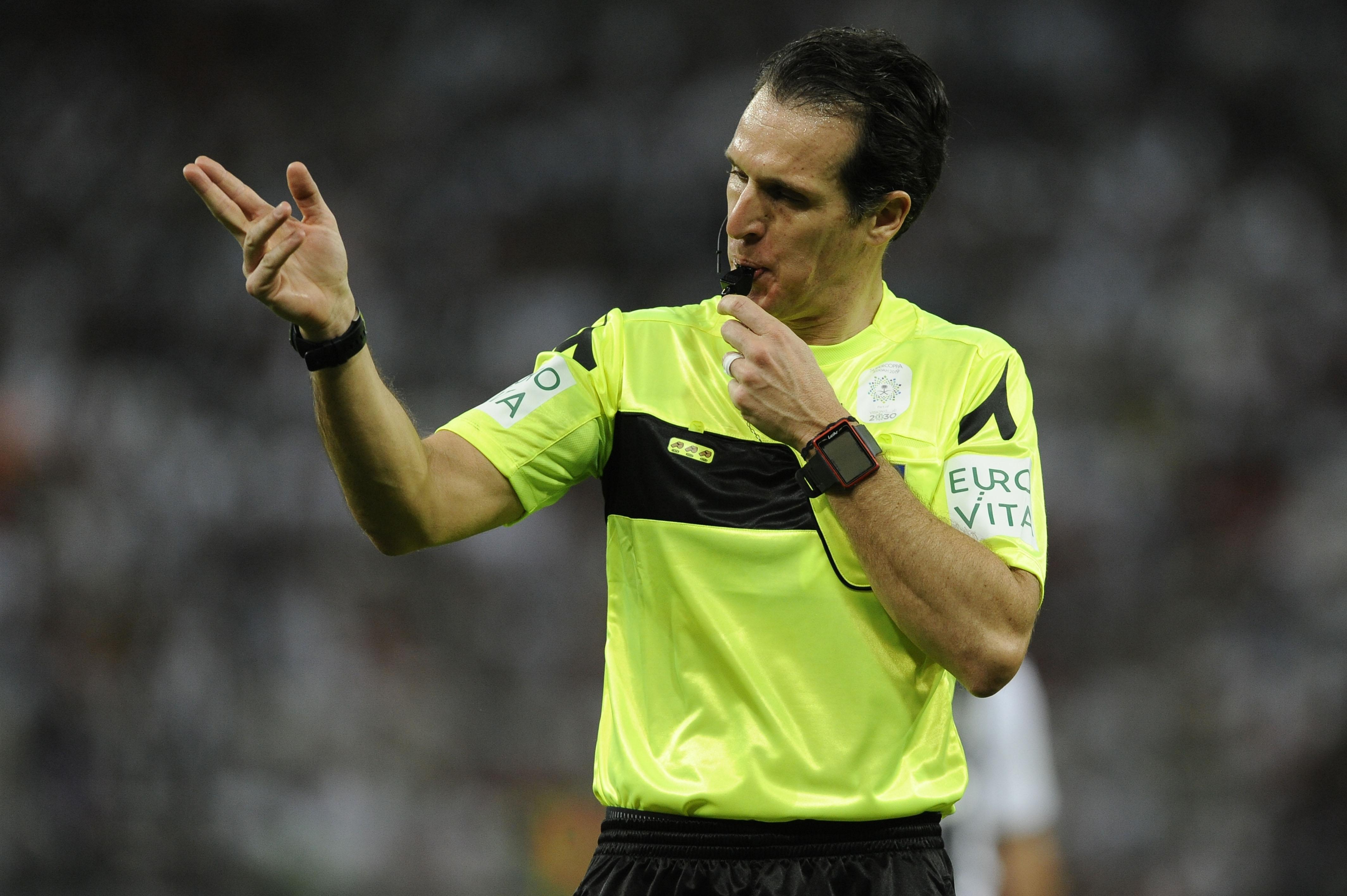Италианската футболна федерация обяви съдийските наряди за последния 38-и кръг