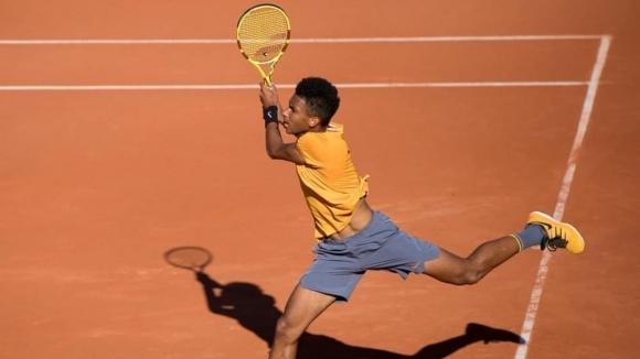Феликс Оже-Алиасим се класира за финала в турнира по тенис