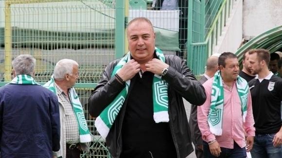 Спортният директор на Берое Валентин Грудев остана доволен не само