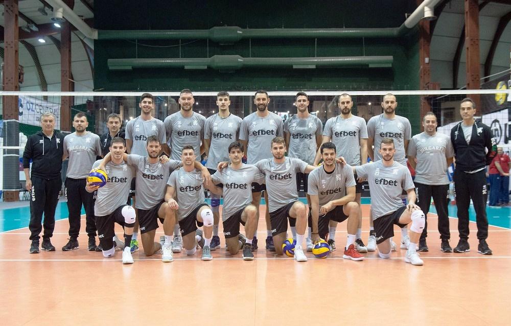 Волейболистите от националния отбор на България загубиха втората контрола срещу