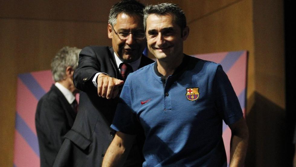 Президентът на Барселона Джосеп Мария Бартомеу декларира пълната си подкрепа