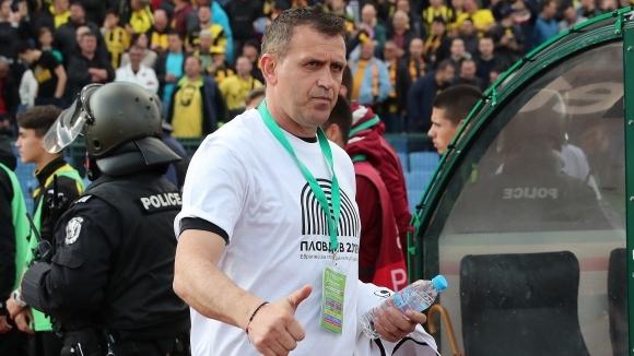"""Треньорът на Локомотив (Пловдив) Бруно Акрапович гостува в предаването """"Код"""