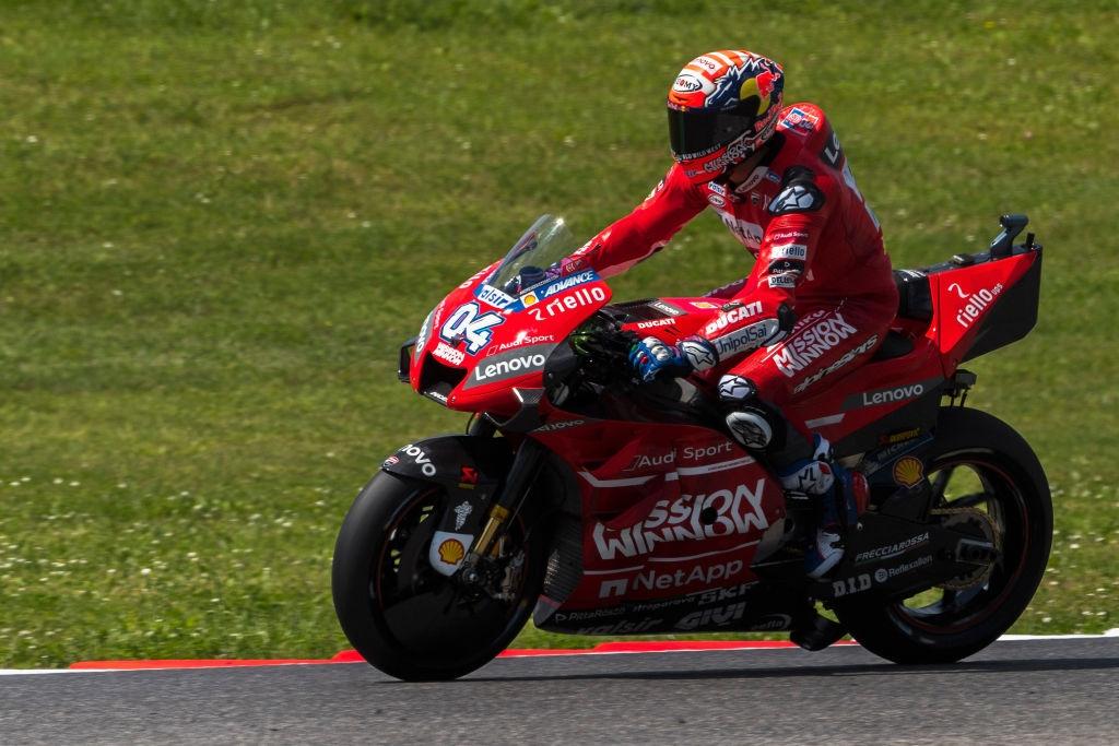 Звездата на Ducati в MotoGP Андреа Довициозо постави нов рекорд