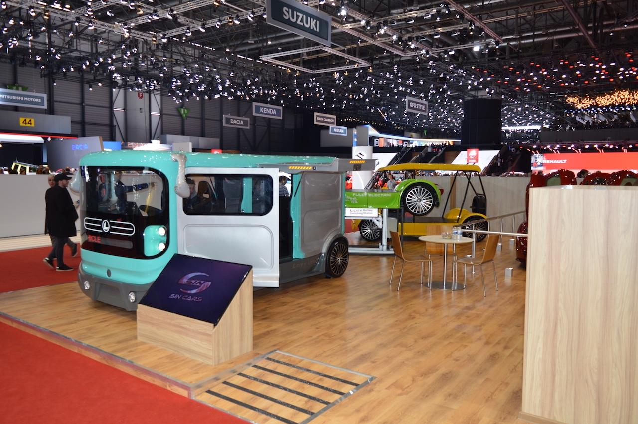 Българската компания Sin Cars представи своя електромобил за градска среда