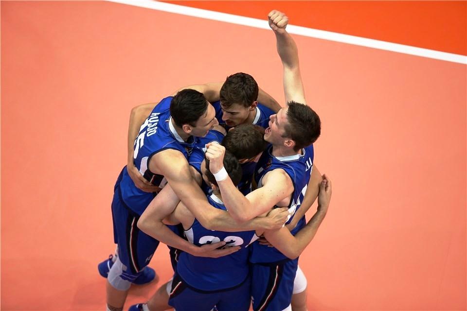 Олимпийският волейболен вицешампион Италия постигна 3-а победа в Лигата на
