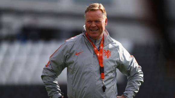 Селекционерът на холандския национален отбор Роналд Куман е щастлив от