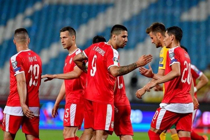Сръбският представителен тим се реваншира донякъде за тежкото поражение с